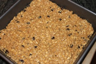 Oatmeal Peanut Butter Protein Bars at A Touch of Grace