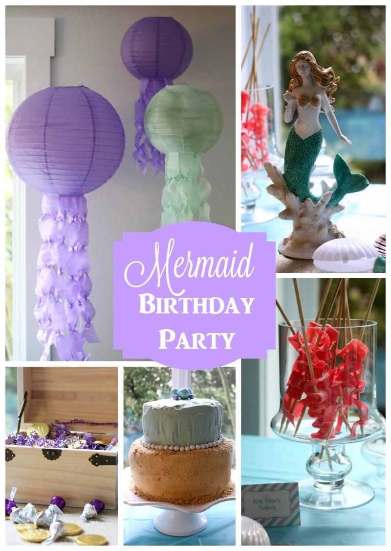 Mermaid 5th Birthday Party Ideas