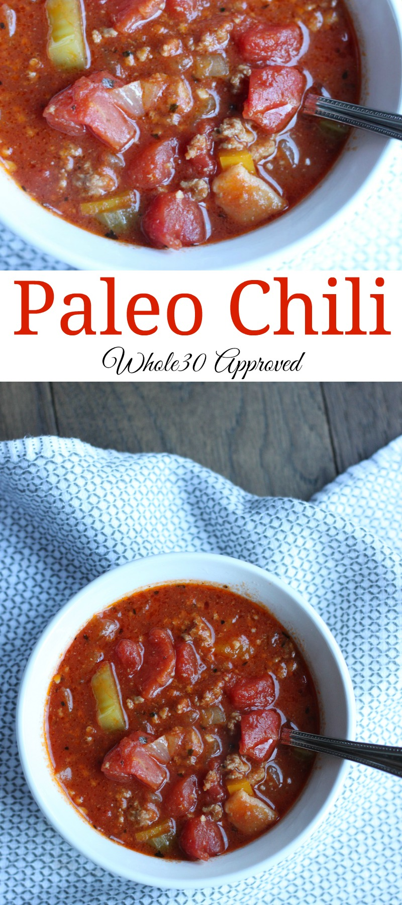 This paleo chili recipe will have you begging for seconds.