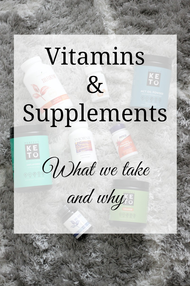 Vitamins Supplements What We Take And Why A Fit Mom S Life