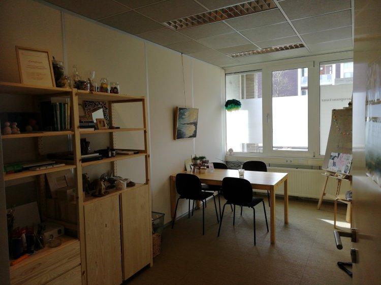 Praktijkruimte Afke Roggeveen bij Vietzorg