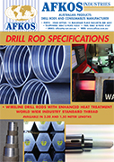 Drill rod specifications