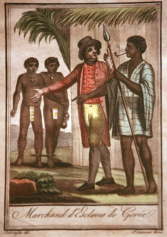 Slave traders in Goree (Rama/Wikipedia Commons)