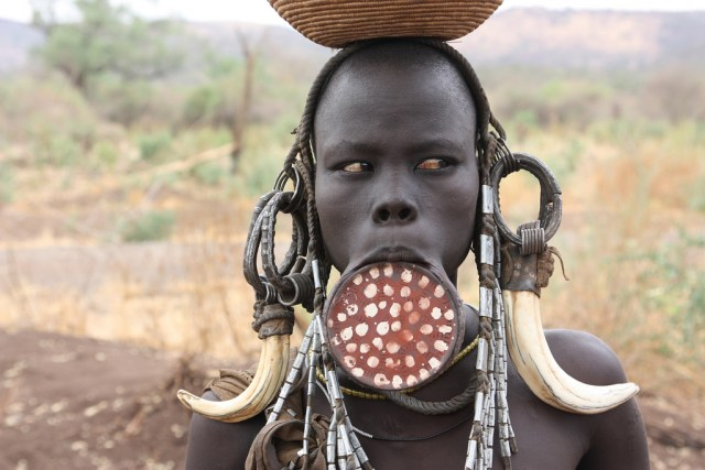 Image result for ethiopia mursi tribe
