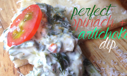 perfect spinach artichoke dip | a flavor journal.
