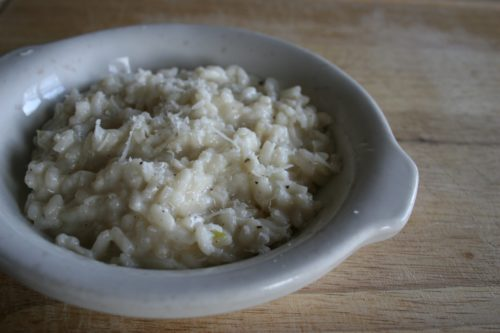 parmesan risotto