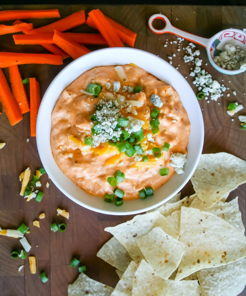 buffalo chicken dip | a flavor journal