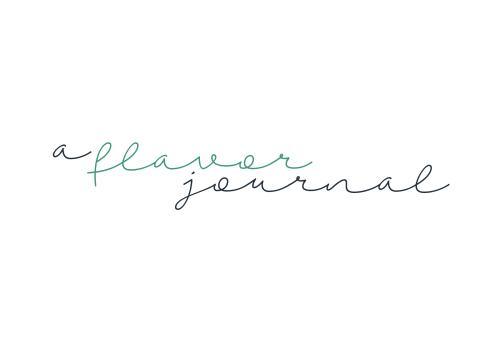 a flavor journal logo