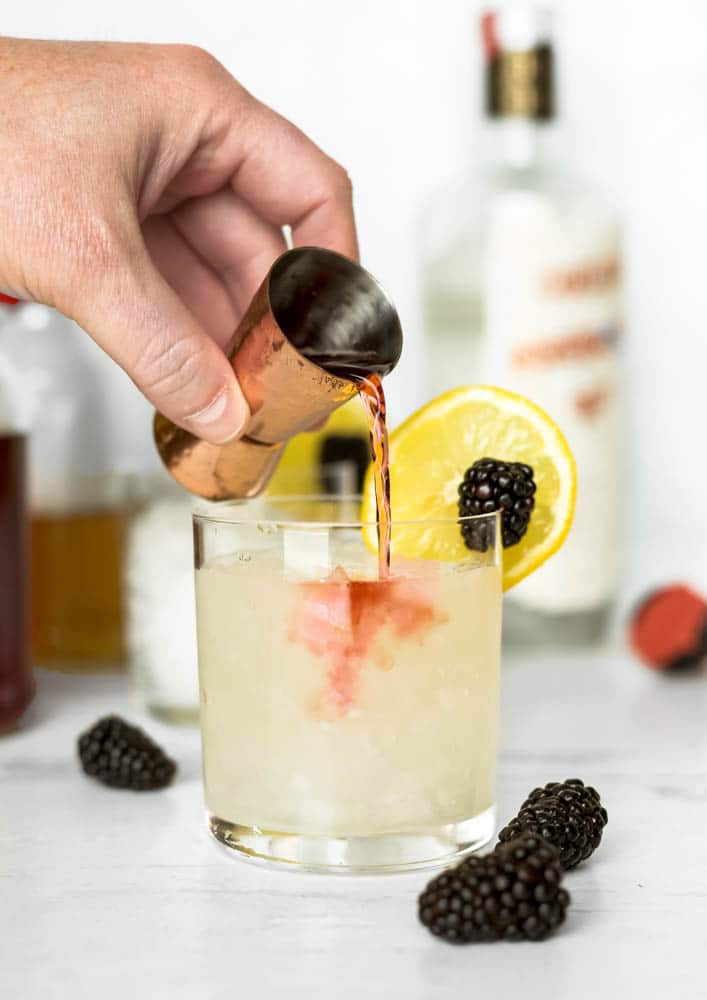 how to make a blackberry bramble