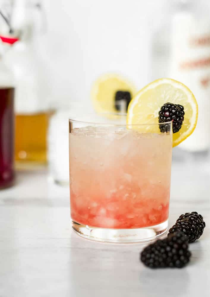 blackberry and gin cocktail recipe