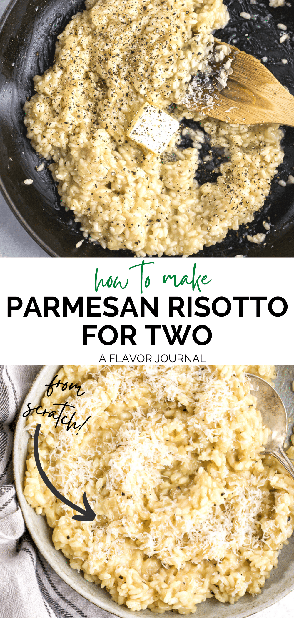 Creamy Parmesan Risotto for Two