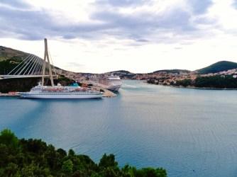 Arrivée à Dubrovnik