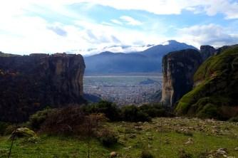 Meteora et la cité de Kalambaka