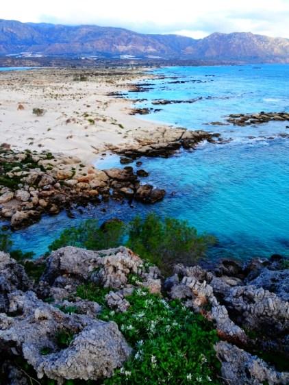 La presqu'île d'Elafonisi