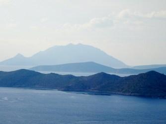 Quelques îles au large de Rhodes