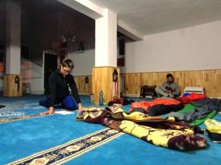 Une nuit à la mosquée