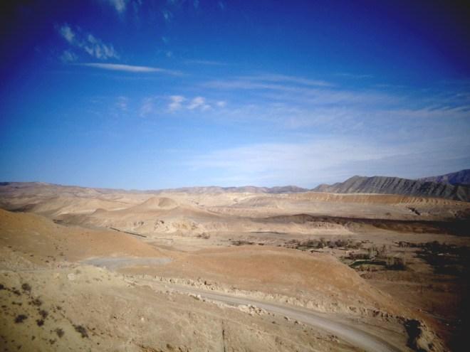 Les premiers pas du désert
