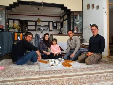 Accueil iranien
