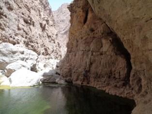 Le profond canyon