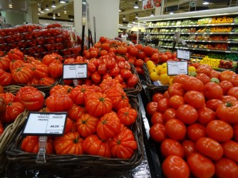19. Tomates de France à 12 euros le kilo, un régal !
