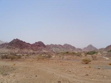 Entre Dubaï et Oman