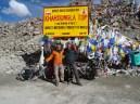 Inde, Ladakh : Sommet du plus haut col du monde