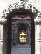 Petit temple au détour d'une rue