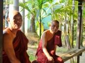 Myanmar : au matin dans un monastère
