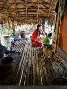 Myanmar : Accueilli dans une maison-cabane