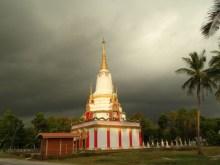 Une pagode en construction