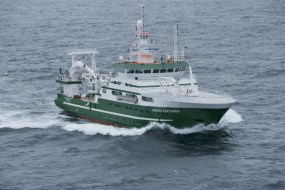 Measurements were collected by the RV Celtic Explorer in 2017 and 2018