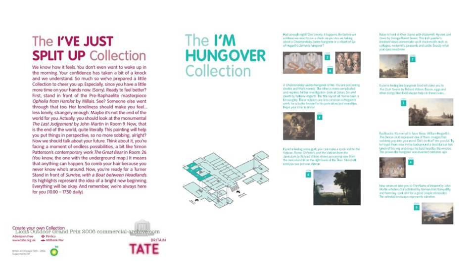 Tate Britain hungover interpretation tour