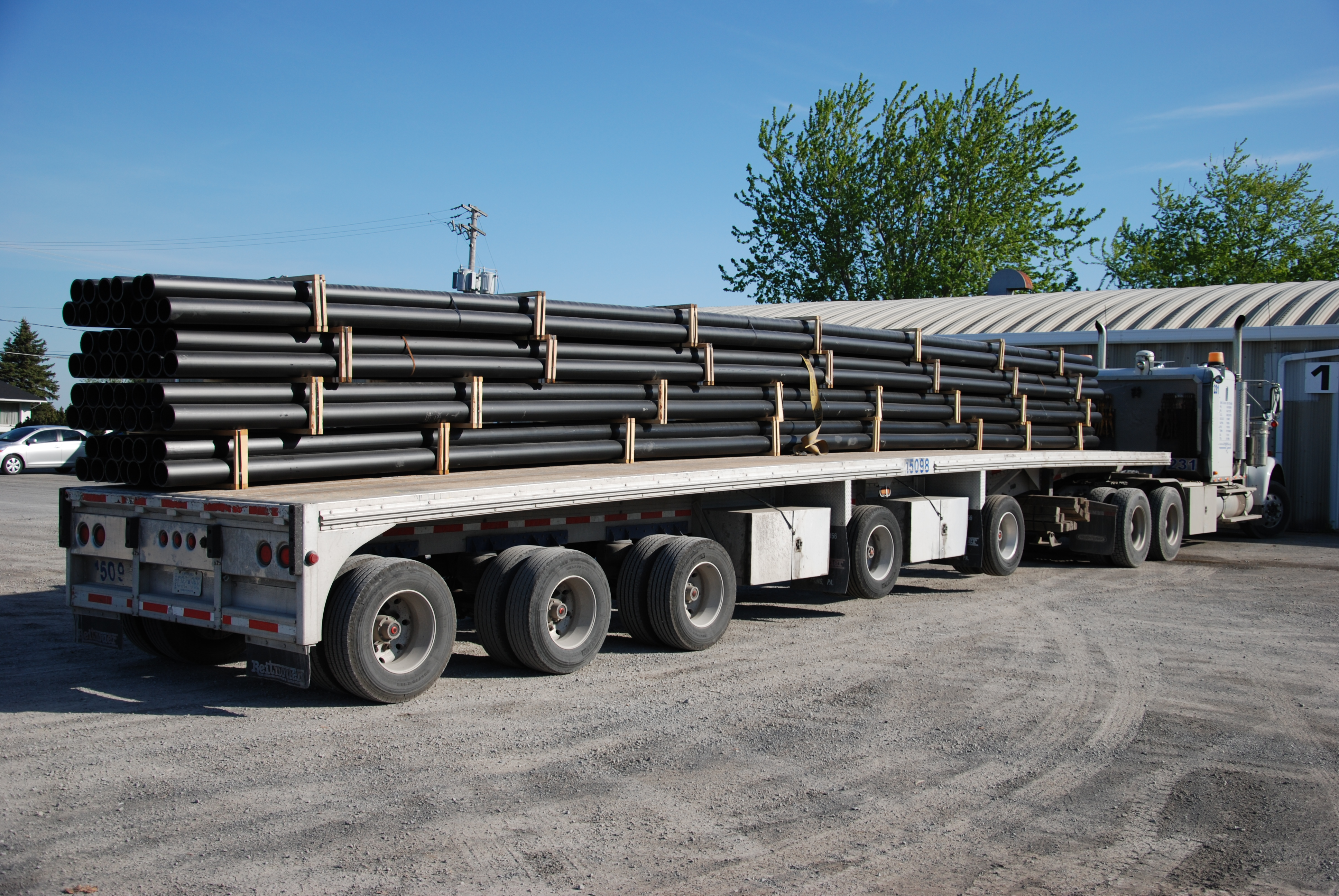 Hdpe Pipe For Rural Water Supply Project Ace Flowtech