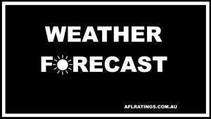 2021 AFL Weather Forecast: Round 9