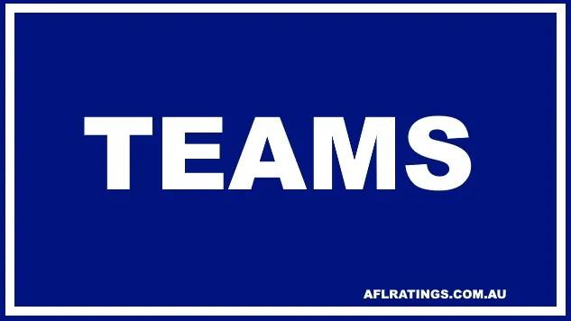 2021 Teams: Round 23