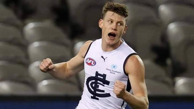2021 Carlton Best & Fairest: Sam Walsh