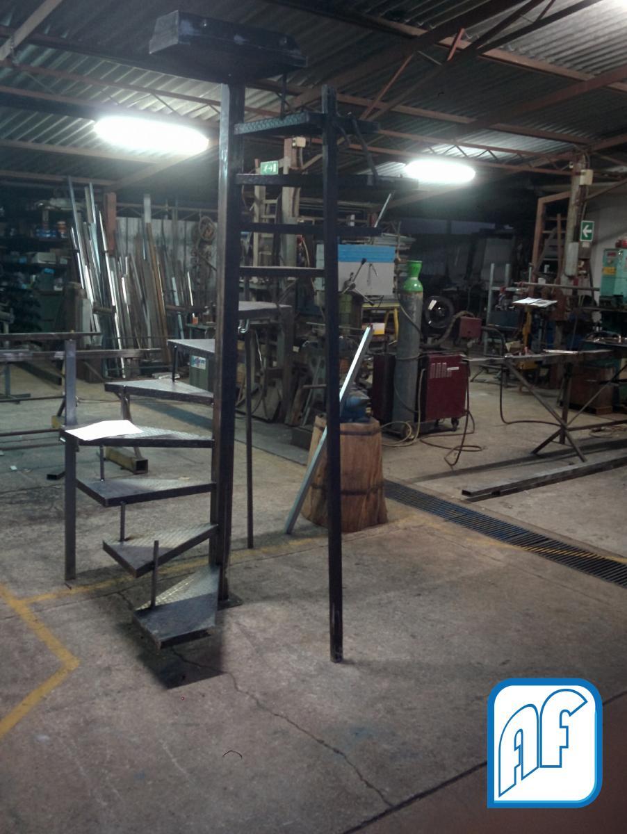 Scale A Chiocciola Af Metalwork Di Acquaro Franco