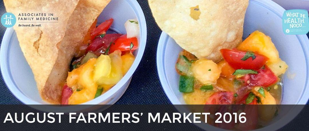 August Farmers' Market 2016