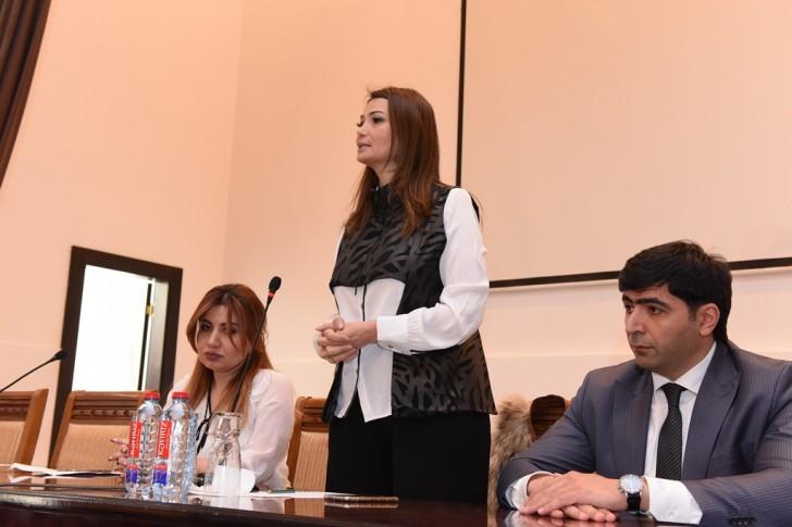 Qənirə Paşayeva ADU-da 31 Mart soyqırımı ilə bağlı gənclərə çağırış edib-