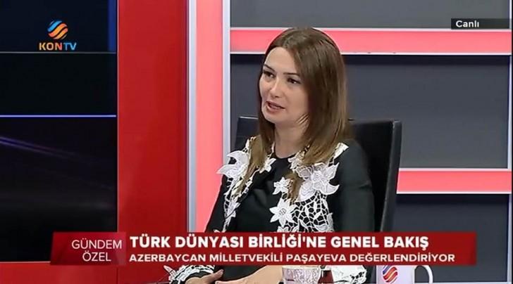Bacıbəy mükafatına layiq görülən Qənirə Paşayeva Türk dünyası aydınlarına çağırış edib