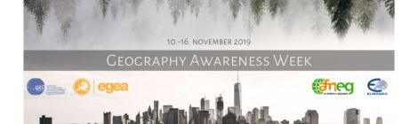 Retour une semaine internationale  de promotion de la géographie