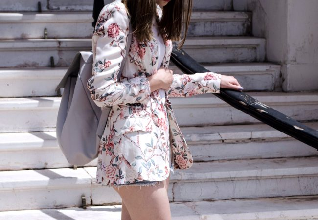 Blossom jacket in Nice