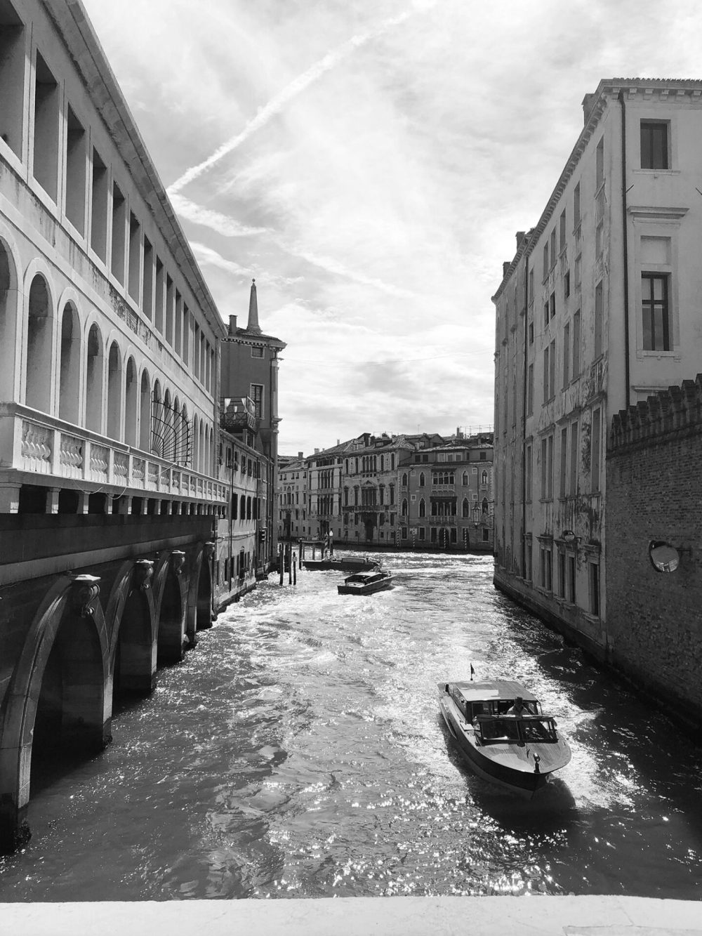 venice view from the bridge