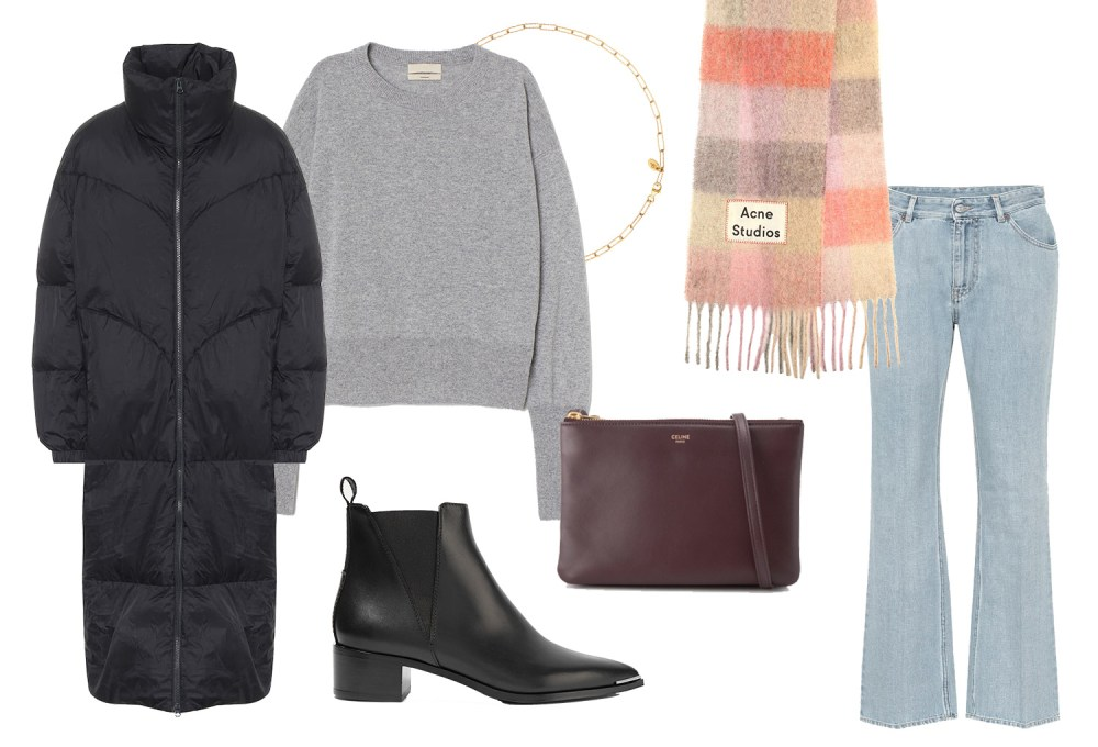 Fall casual style Isabel Marant, Acne, Celine