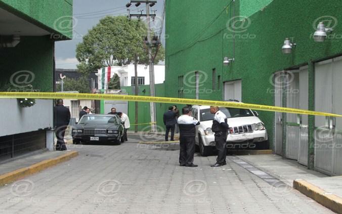 El vehículo quedó custodiado en espera de las autoridades.