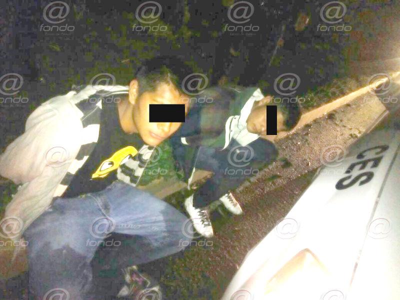 Los delincuentes estaban detenidos por robo con violencia.