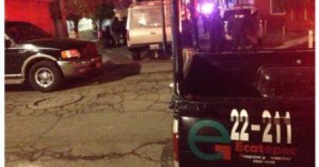 Los cuerpos fueron reportados por vecinos de la zona.