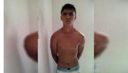 El sujeto es conocido como 'El Tuerto' por su evidente condición física.