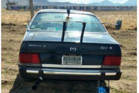 FEMINICIDIO #33: Abandonan cuerpo de una mujer en el asiento trasero de un auto
