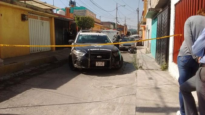 El lugar quedó resguardado por autoridades.